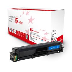 5 Star Office Remanufactured Toner Cartridge Page Life Cyan 1800pp [Samsung SU025A Alternative] Ref 943143