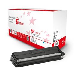 5 Star Office Remanufactured Toner Cartridge Page Life Cyan 1800pp [Brother TN421C Alternative] Ref 942796