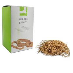 Q-Connect Rubber Bands No.19 88.9 x 1.6mm 500g Ref KF10527