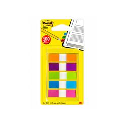 Segnapagina Post-it® Index Mini - assortiti classici - 20 ff - conf. 5