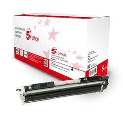 5 Star Office Remanufactured Toner Cartridge Page Life Black 1300pp [HP 130A CF350A Alternative] Ref 942873