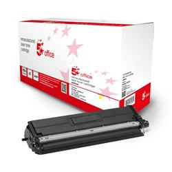 5 Star Office Remanufactured Toner Cartridge Page Life Yellow 1800pp [Brother TN421Y Alternative] Ref 942806
