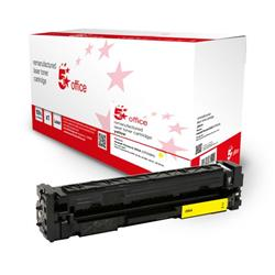 5 Star Office Remanufactured Toner Cartridge Page Life Yellow 900pp [HP 205A CF532A Alternative] Ref 942962