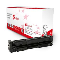 5 Star Office Remanufactured Toner Cartridge Page Life Black 1400pp [HP 203A CF540A Alternative] Ref 942881