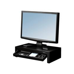 Supporto FELLOWES Monitor Designer Suites plastica nero altezza regolabile 11/13/15cm - 8038101