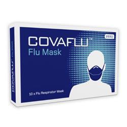 Covaflu FFP2 Respirator Face Mask Pack 10