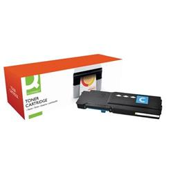 Q-Connect Remanufactured Dell C3760 Laser Toner Cartridge Extra High Yield Cyan 593-11122-COMP Ref OB11122