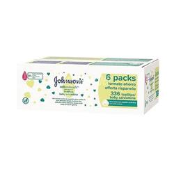 Johnsons Baby Wipes Extra Sensitive (336 Pack) TOJOH668