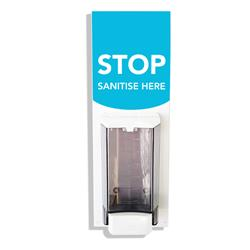 Wall Mounted Hand Sanitiser Unit White