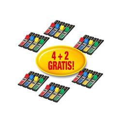 Value Pack Segnapagina Post-it® Index Mini - assortiti classici - conf. 4+2 GRATIS