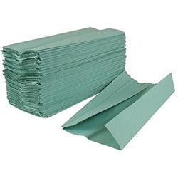 C-Fold Towel 1-Ply Green 33x23cm (Pk2800)