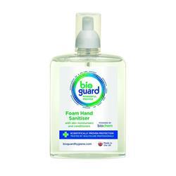 Antiviral and Antibacterial Foam Hand Sanitiser Bioguard 500ml