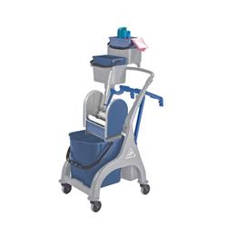 Kentucky Mopping Quick Response Trolley (Includes bucket holders, mop handle  and hooks) MWVK5B01L