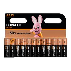 Duracell Plus AA Battery (Pack of 12) 81275378