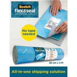 Flex And Seal Shipping Roll 38cmx3m FS-1510-6-EU
