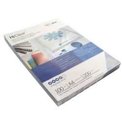 GBC HiClear A4 Binding Cover 200micron Super Clear (Pack of 100) CE012080E