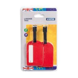 Status Travel Luggage Tags (Pack of 20) SLUGGAGETAG2PK10