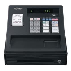Sharp XE-A137 Cash Register Black XEA137BK