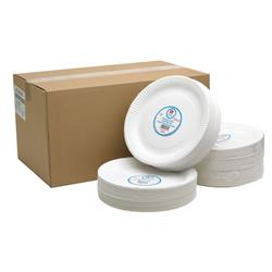 Paper Plate 9 Inch White (Pack of 100) 0511041