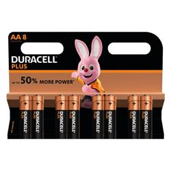 Duracell Plus AA Battery (Pack of 8) 81275377