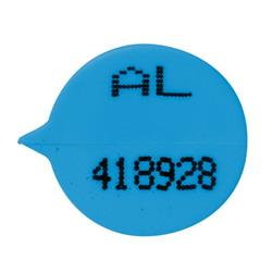 GoSecure Security Seals Numbered Round Blue (Pack of 500) S3B