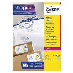 Avery Mini Labels 38 x 21mm White (Pack of 16250) L7651-250