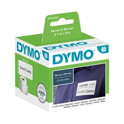 Dymo 99014 LabelWriter Labels 54 x 101mm Black on White S0722430