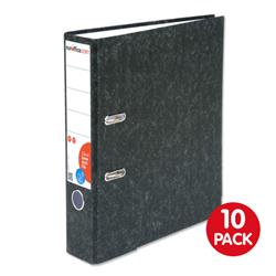 Euroffice Lever Arch File 70mm A4 Cloudy Grey Pack 10