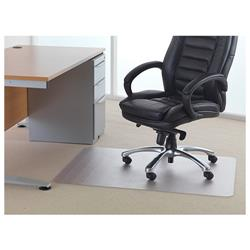 Floortex Polycarbonate Rectangle Carpet Chair Mat 1190x890mm Ref 118923ER
