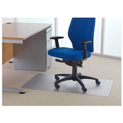 Floortex Value Chairmat For Carpet 1200x750mm Clear Ref FL74288