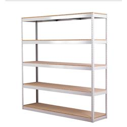 Zamba Grey Stock/Archiving Shelving W1800mm  Ref STS834557