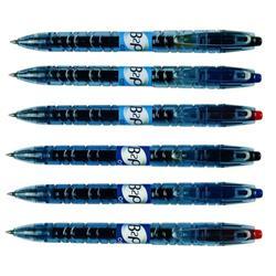 Pilot Begreen B2P Retractable Gel Rollerball Pen 0.7mm Tip Black Ref 054101001 - Pack 10