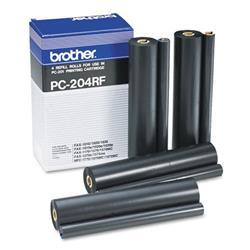 Originale Brother fax TTR - Nastro TTR - nero - PC-204RF - conf. 4