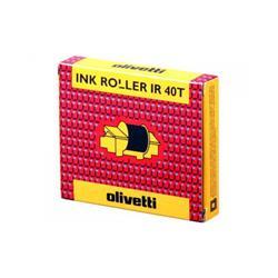 Nastro Ink roll - Olivetti - IR40T nero-rosso - conf. 2