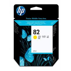 Cartuccia HP 82 - originale HP inkjet - giallo - 69 ml - C4913A