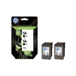 Cartuccia HP 56 - originale HP - nero - C9502AE - conf. 2