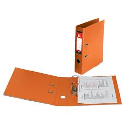 5 Star Office Lever Arch File Plastic A4 Orange [Pack 10]