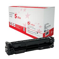 5 Star Office Remanufactured Laser Toner Cartridge Page Life 2300pp Black [HP 201X CF400X Alternative]