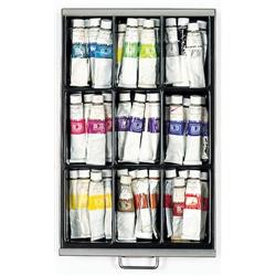 Optional A4 9 Compartment Tray - Black Ref 226P5/1