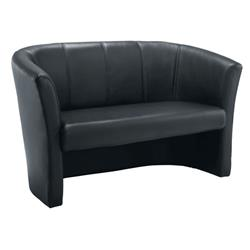 Tub Sofa - Leather Look Ref OF0200