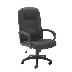 Keno Fabric Chair - Charcoal Ref CH0137CH