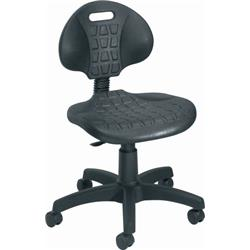 Factory Chair- Fixed Back - Black Ref CH0504