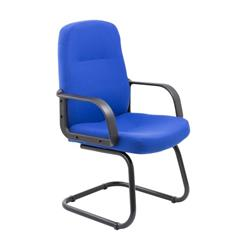 Canasta Visitor Fabric Chair - Royal Blue Ref CH0767RB
