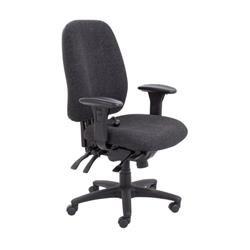 Vista High Back Chair - Charcoal Ref CH0903CH