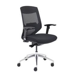 Vogue Medium Back Chair - Black Ref CH2622BK
