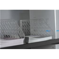 Bisley Essentials Slotted Shelf Dividers inc. 5 Dividers - Opaque Ref SHDV85P5PS