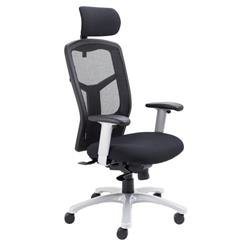 Fonz Mesh Chair - Black Ref CH0730