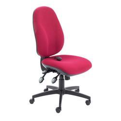 Maxi Ergo Chair - Claret Ref CH0808CL