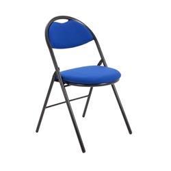 Sienna Folding Chair - Royal Blue Ref CH1519RB