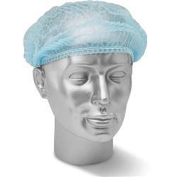 Click Once Disposable Mob Cap Blue Ref DMCB [Pack 1000]